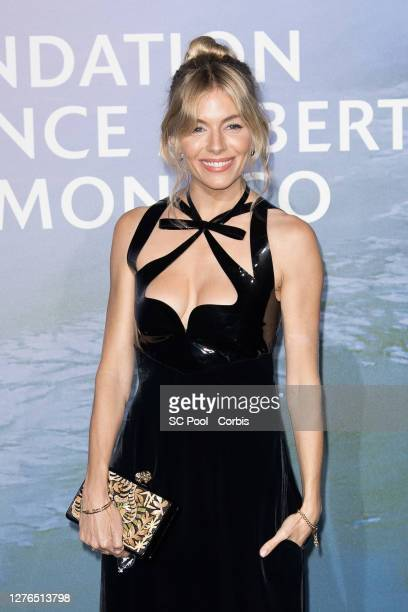 Sienna Miller attends the Monte-Carlo Gala For Planetary Health on September 24, 2020 in Monte-Carlo, Monaco.