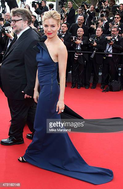 Sienna Miller attends the opening ceremony and premiere of 'La Tete Haute during the 68th annual Cannes Film Festival on May 13 2015 in Cannes France