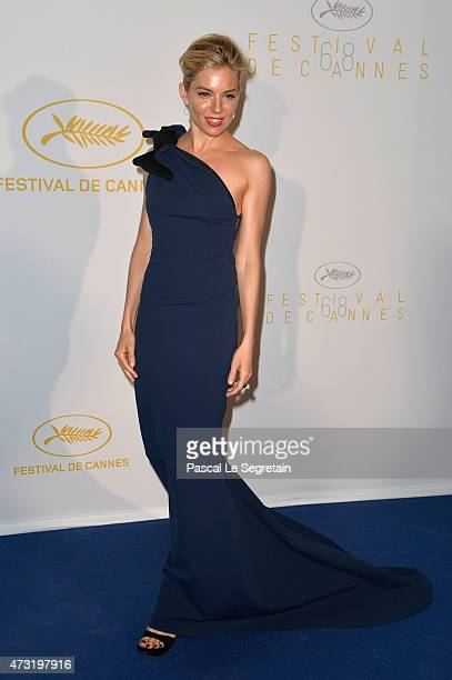 Sienna Miller attends the Opening Ceremony dinner during the 68th annual Cannes Film Festival on May 13 2015 in Cannes France