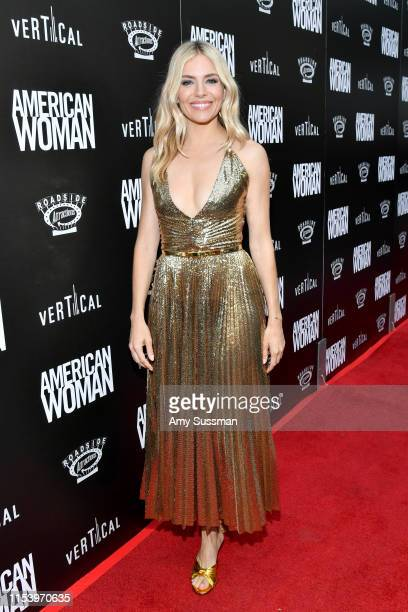 Sienna Miller attends the Premiere of Roadside Attraction's 'American Woman' at ArcLight Hollywood on June 05 2019 in Hollywood California