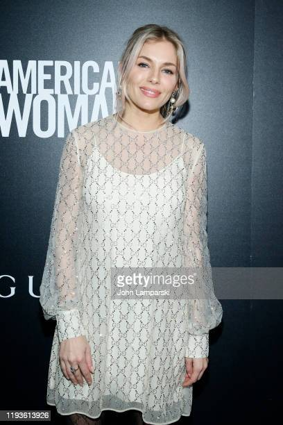 Sienna Miller attends the screening of American Woman at Metrograph on December 12 2019 in New York City