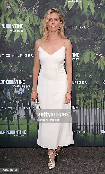Sienna Miller attends The Serpentine Summer Party CoHosted By Tommy Hilfiger at The Serpentine Gallery on July 6 2016 in London England