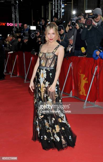 Sienna Miller attends the 'The Lost City of Z' premiere during the 67th Berlinale International Film Festival Berlin at Zoo Palast on February 14...