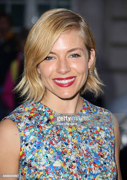 Sienna Miller attends the World Premiere of 'Effie Gray' at The Curzon Mayfair on October 5 2014 in London England