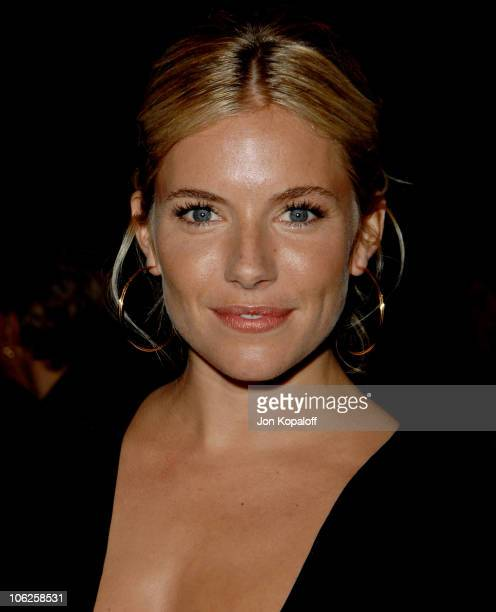 Sienna Miller during 18th Annual Palm Springs International Film Festival Awards Gala at Palm Springs Convention Center in Palm Springs CA United...