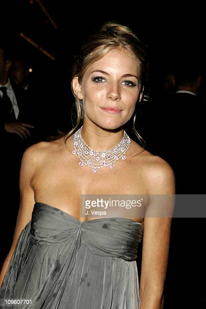 Sienna Miller during 2005 Venice Film Festival 'Casanova' Party Inside at Palazzo Ducale in Venice Lido Italy