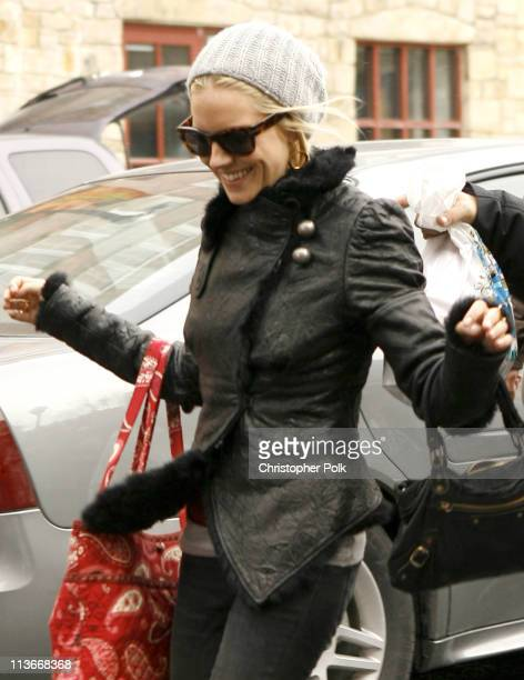 Sienna Miller during 2007 Park City Seen Around Town Day 3 at Streets of Park City in Park City Utah United States