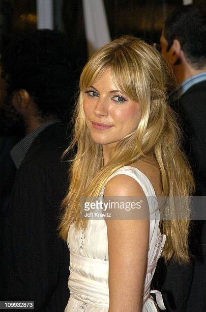 Sienna Miller during Cold Mountain Los Angeles Premiere at Mann National Theater in Los Angeles California United States