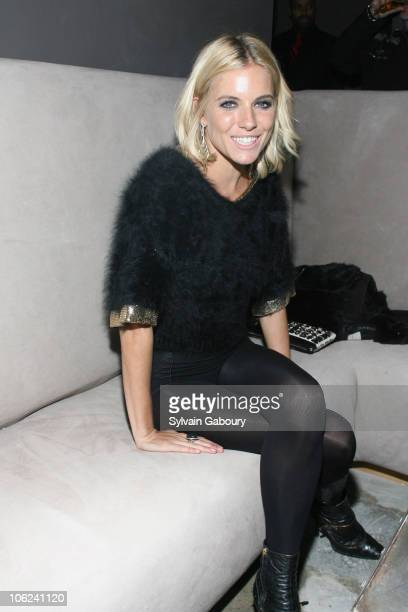 Sienna Miller during 'Factory Girl' New York Premiere After Party at Chelsea Hotel at 222 West 23rd Street in New York City New York United States