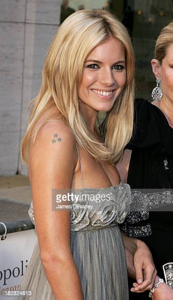 Sienna Miller during Madama Butterfly Opening Night Starting the Lincoln Center Metropolitan Opera 20062007 Season at Lincoln Center Plaza in New...