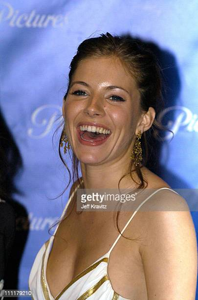 Sienna Miller during ShoWest 2004 Paramount Pictures Press Room at Bally's Paris Hotel in Las Vegas Nevada United States