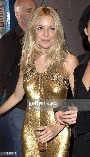 Sienna Miller during Sienna Miller and Sean Hughes Depart from Her Final Performance of 'As You Like It' at The Wyndham's Theatre in London at The...