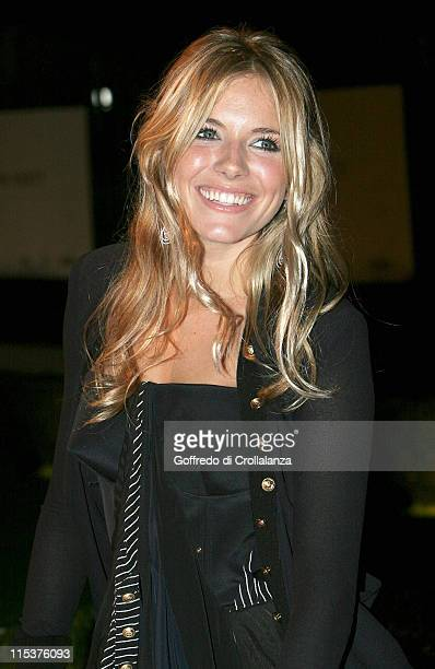 Sienna Miller during The London Party Arrivals at The Wallace Collection in London Great Britain