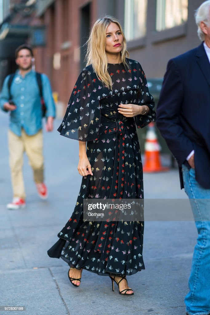 Celebrity Sightings in New York City - June 12, 2018 : ニュース写真