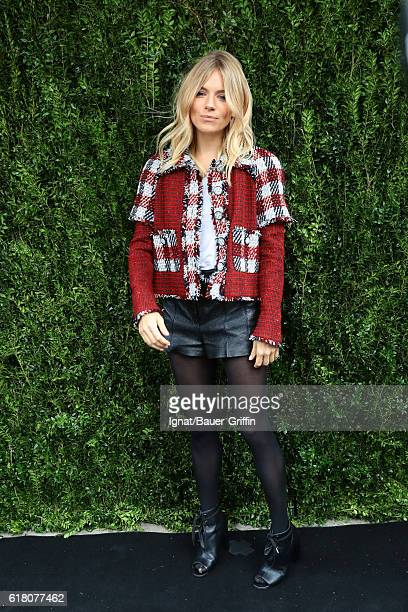 Sienna Miller is seen on October 25 2016 in New York City
