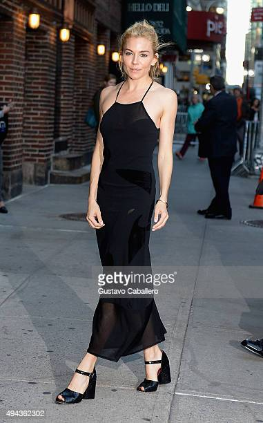 Sienna Miller is sighed on October 26 2015 in New York City