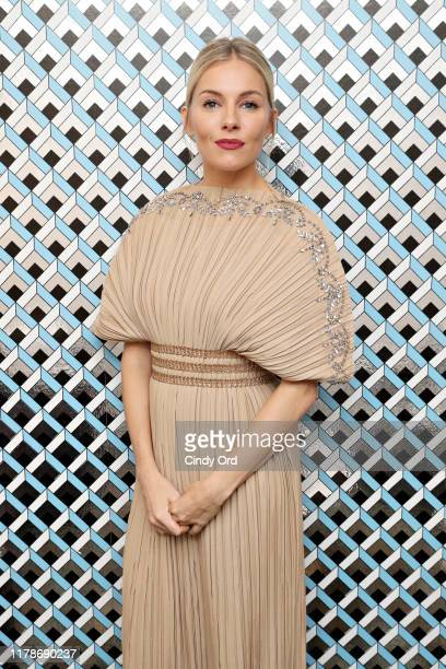 """Sienna Miller poses for a photo backstage during the Outstanding Achievement In Cinema Award Presentation and """"American Woman"""" Q&A during the 22nd..."""