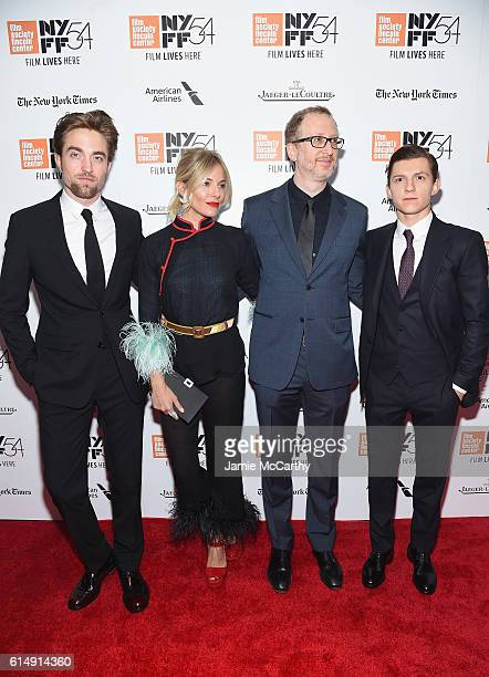 Sienna Miller Robert Pattinson James Gray and Tom Holland attend the Closing Night Screening of The Lost City Of Z for the 54th New York Film...