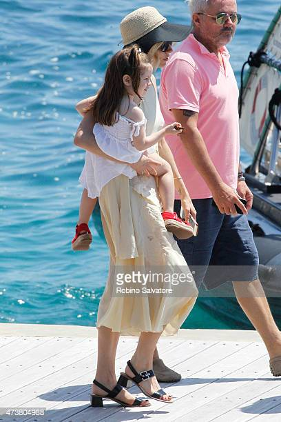 Sienna Miller sighted in Cannes 2015 May 17 in Cannes France