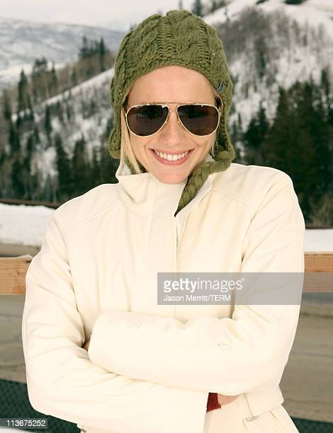 Sienna Miller wearing The North Face at The Ice Lounge presented by The North Face Lexus and St Regis*Exclusive*