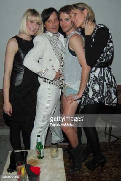 Sienna Scott Bryan Rabin Jeremy Simpkin and Katy Rodriguez attend Bryan Rabin Kelly Cole and Ian Cripps Present Diamond Dogs at hwood on April 9 2009...