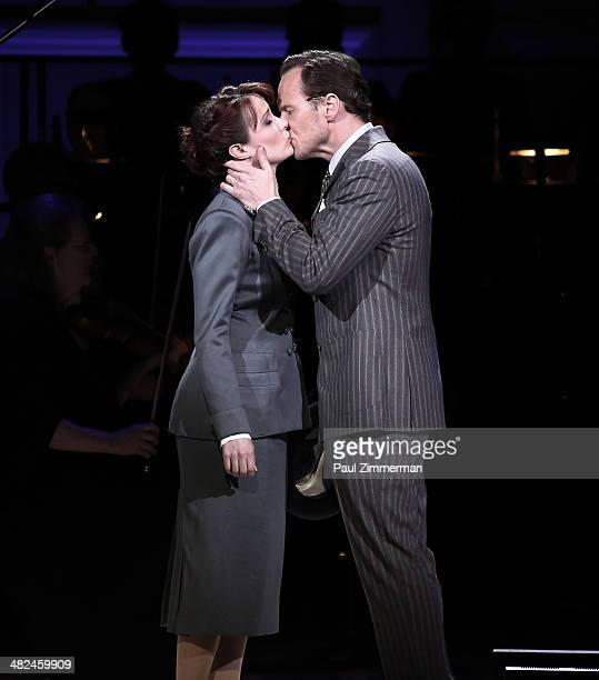 Sierra Boggess and Patrick Wilson perform Guys And Dolls at Carnegie Hall on April 3 2014 in New York City