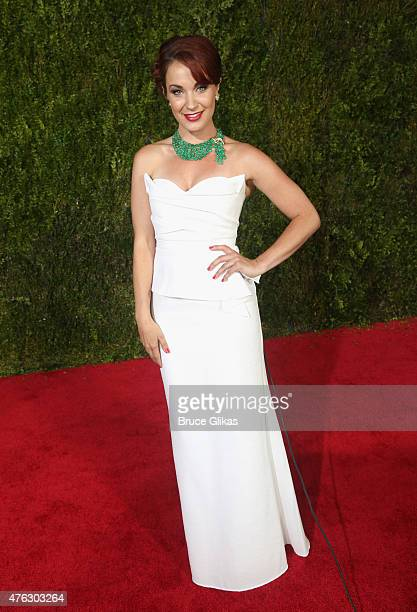 Sierra Boggess attends the American Theatre Wing's 69th Annual Tony Awards at Radio City Music Hall on June 7 2015 in New York City
