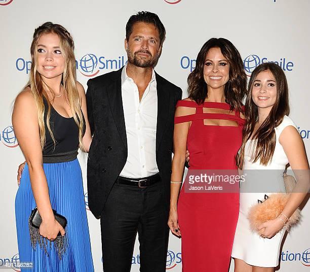 Sierra Fisher David Charvet Brooke BurkeCharvet and Neriah Fisher attend Operation Smile's 2015 Smile Gala at the Beverly Wilshire Four Seasons Hotel...