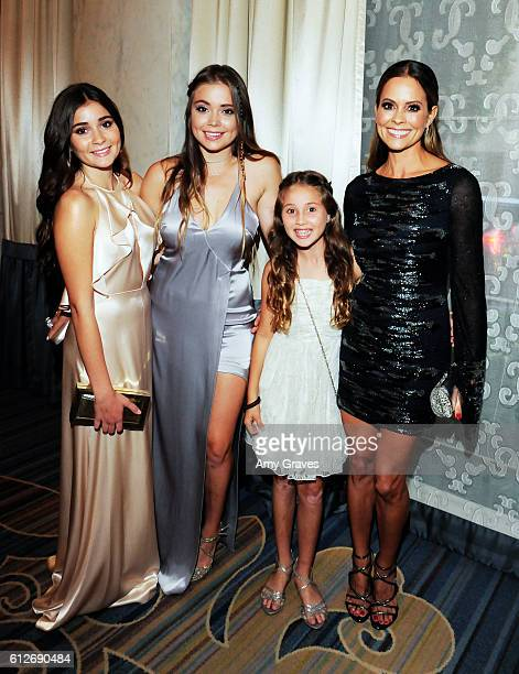 Sierra Fisher Nariah Fisher Rain Carvet and Brooke BurkeCharset attend Operation Smile's Annual Smile Gala at the Beverly Wilshire Four Seasons Hotel...