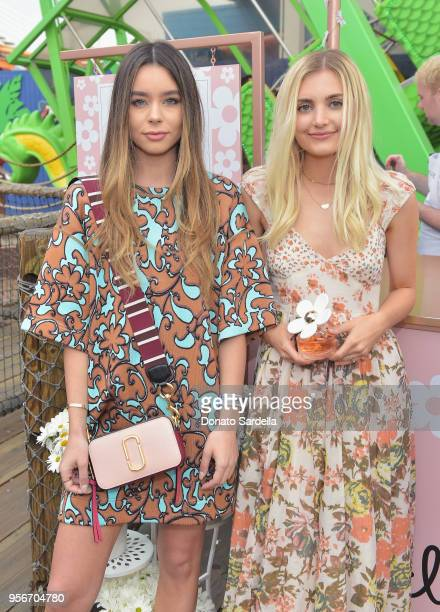 Sierra Furtado and Aspyn Ovard attend the Marc Jacobs Fragrances Celebrates the Launch of DAISY LOVE on May 9 2018 in Los Angeles California