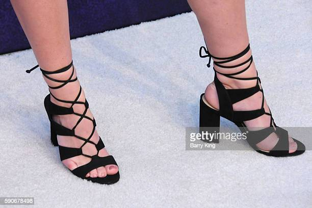 Sierra Furtado, shoe detail, attends Variety's Power of Young Hollywood event, presented by Pixhug, with Platinum Sponsor Vince Camuto at NeueHouse...