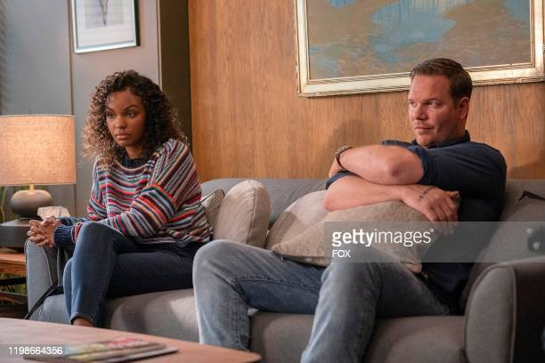 Sierra McClain and Jim Parrack in the YeeHaw episode of 911 LONE STAR airing Monday Jan 20 on FOX