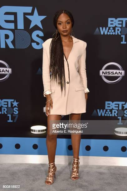Sierra McClain at the 2017 BET Awards at Microsoft Square on June 25 2017 in Los Angeles California