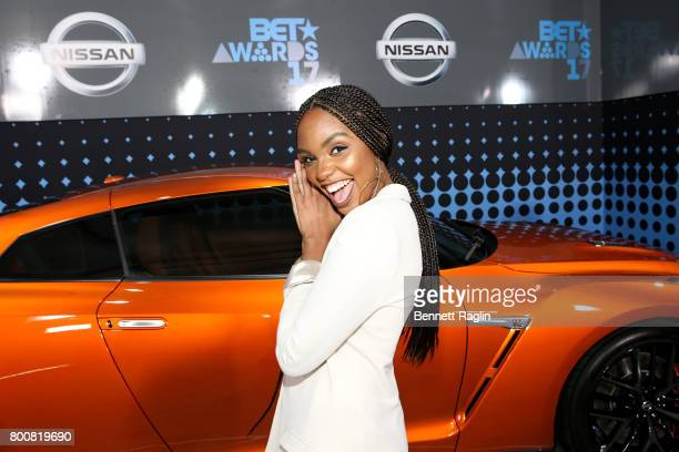 Sierra McClain at the 2017 BET Awards at Staples Center on June 25 2017 in Los Angeles California