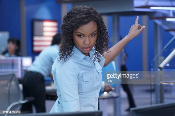 Sierra McClain in the Awakening/Austin We Have A Problem twohour season finale of 911 LONE STAR airing Monday March 9 on FOX