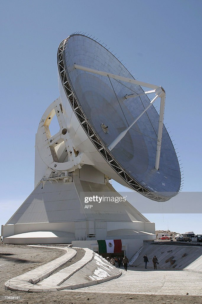 General view of the Large Millimeter Tel : News Photo
