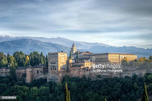 Sierra Nevada and Alhambra