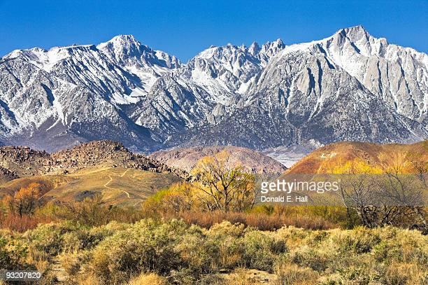 Sierra Nevadas from Lone Pine