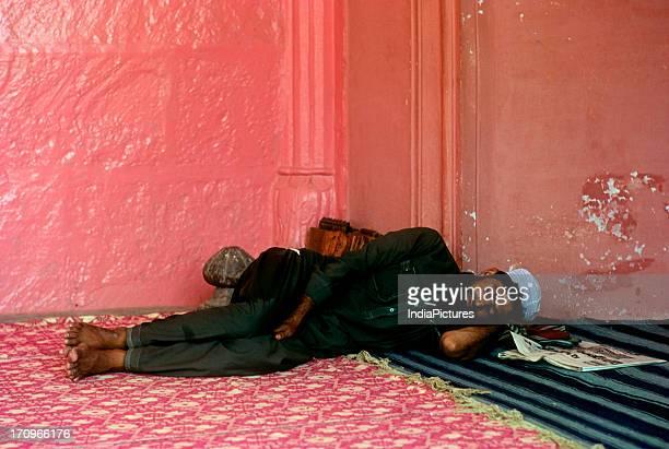 Siesta Jama Masjid Delhi India