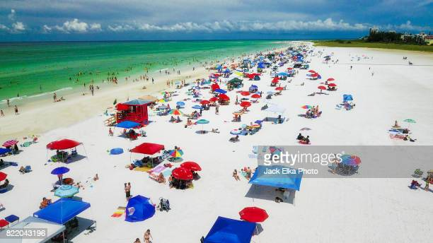 siesta key florida - siesta key stock pictures, royalty-free photos & images