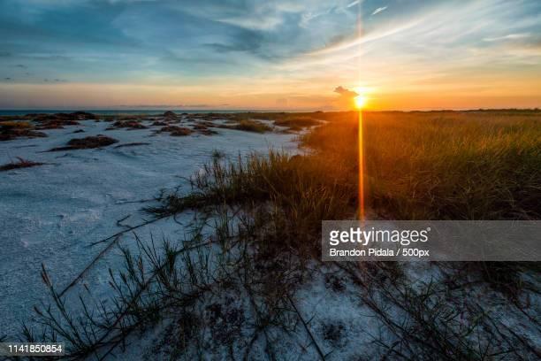 siesta sundown - siesta key foto e immagini stock