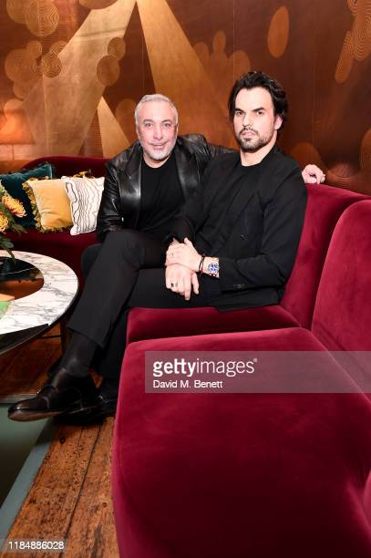 Sig Bergamin and Murilo Lomas attend the book signing cocktail party celebrating Brazilian designer, Sig Bergamin, hosted by De Gournay and...