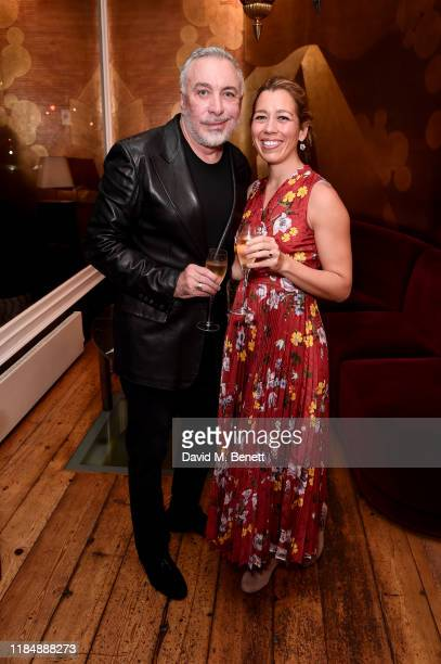 Sig Bergamin and Rachel Cecil Gurney attend the book signing cocktail party celebrating Brazilian designer, Sig Bergamin, hosted by De Gournay and...