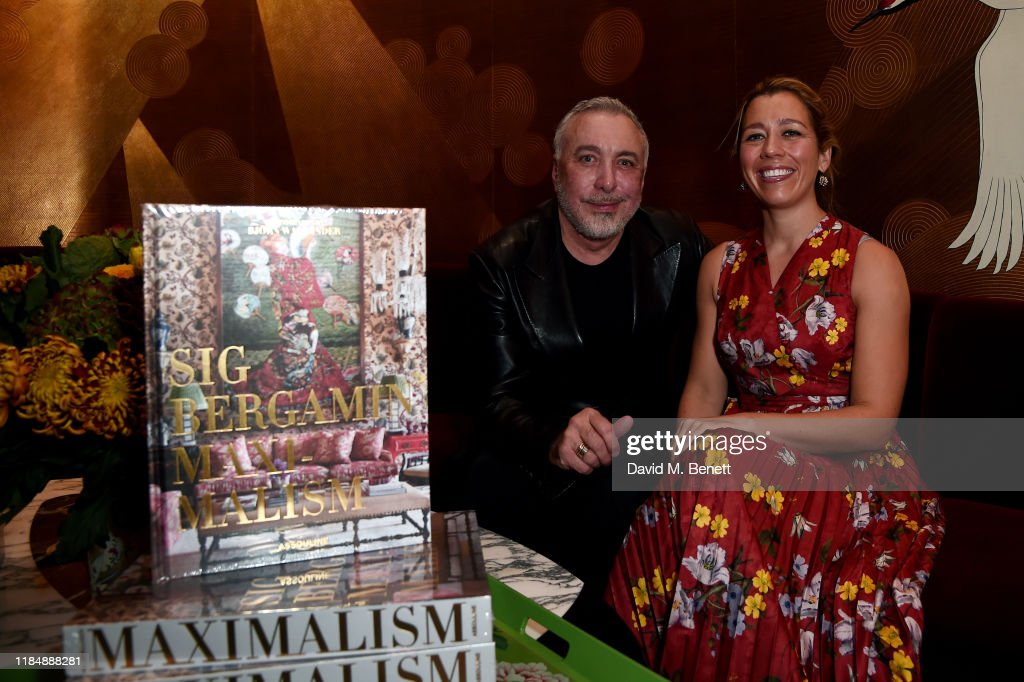 Maximalism: By Sig Bergamin Book Signing Party : News Photo