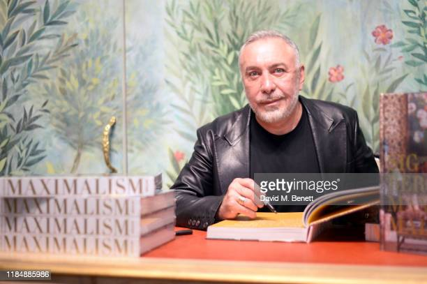 Sig Bergamin attends the book signing cocktail party celebrating Brazilian designer, Sig Bergamin, hosted by De Gournay and Assouline, on November...