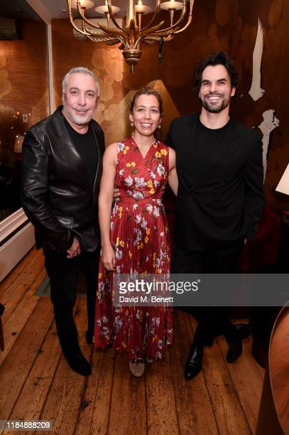 Sig Bergamin, Rachel Cecil Gurney and Murilo Lomas attend the book signing cocktail party celebrating Brazilian designer, Sig Bergamin, hosted by De...