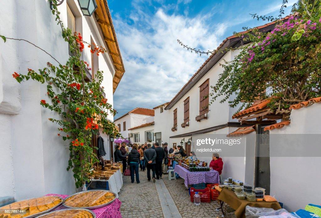 Sigacik Village Open Market In Izmir High Res Stock Photo Getty Images