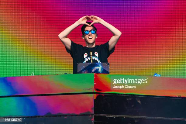 Sigala performs on stage during Day 1 of Fusion Festival 2019 on August 31 2019 in Liverpool England