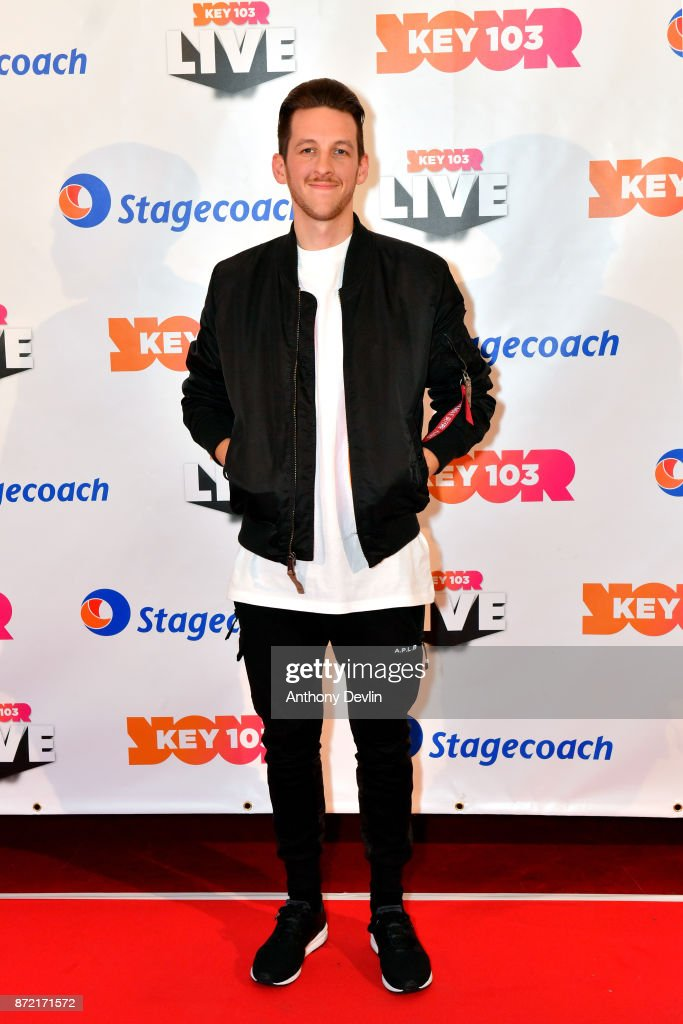 Sigala poses before perfoming at Key 103 Live held at the Manchester Arena on November 9, 2017 in Manchester, England.