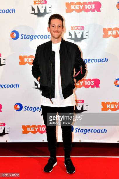 Sigala poses before perfoming at Key 103 Live held at the Manchester Arena on November 9 2017 in Manchester England
